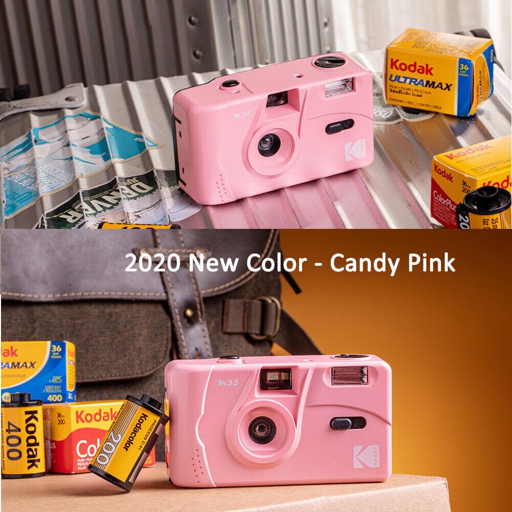 Image 3 - Kodak Vintage retro M35 35mm Reusable Film Camera / UltraMax 400 Film Bundle