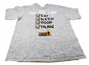 Details about Tough Mudder Toddler To Do List Grey Cotton T-Shirt Child  Poop Sleep Gift K8