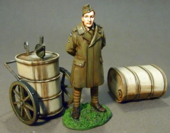 John Jenkins WW1 Cavalieri Of The cielo BGC22 WW1 Inglese Mechanic & Olio autot
