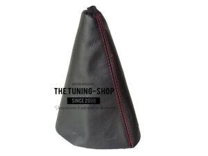 Die tuning-shop LTD Schaltsack schwarz Leder rot