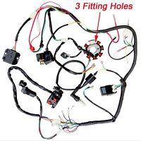 Complete Electrics Quad 250cc Lifan Coil Harness Cdi Spark Plug Rectifier Stator