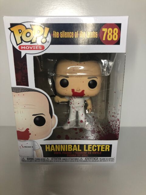 Hannibal Lecter Pop! Movies #788: The Silence of the Lambs Bloody nouveau