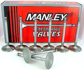 Set of 8 10549-8 Manley 105498 Stainless Steel Performance Valves