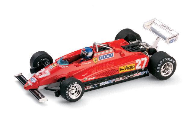 Ferrari 126C2 GP Italia Monza 1982  Pilota 1 43 2005 R287CH BRUMM