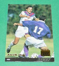 JACEK BAK FOOTBALL CARD PANINI 1996-1997 OLYMPIQUE LYON OL GERLAND