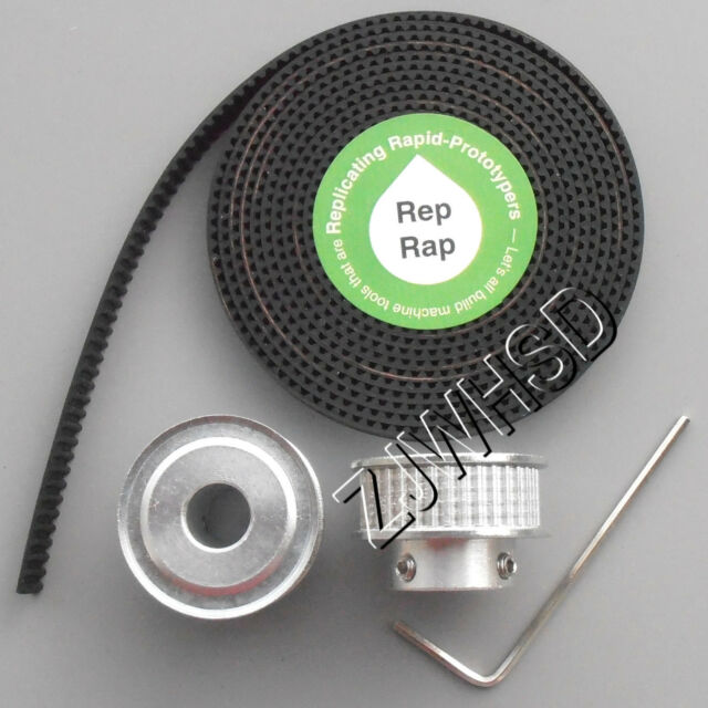 RepRap 2x GT2 36T 8mm Bore Pulleys & 2M Timing Belt Set for 3D printer Ultimaker