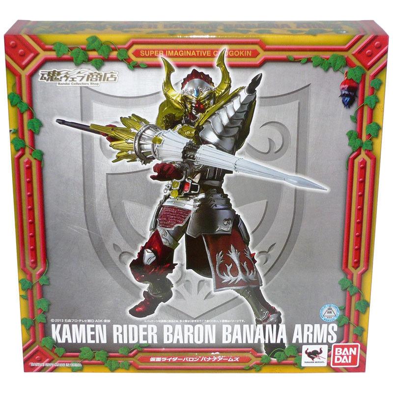 Bandai Tamashii Limited S.I.C. Gaim Kamen Rider Baron Banana Brazos Figura De Acción
