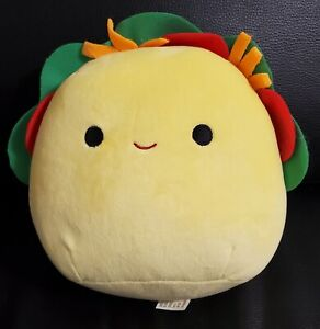 """8"""" Kellytoy Squishmallow Food Tex the Taco - New In Hand"""