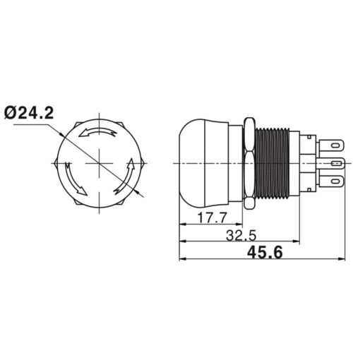 STANLEY PG1102W LED GREEN Clear SMD 1206 Pkg  **NEW** 10//PKG