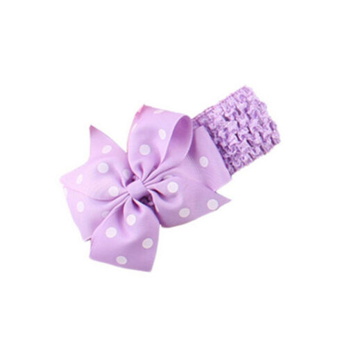 Hair Bow Wave Hairband Hair Accessory For 6 Months To 3 Years Baby Head Wears