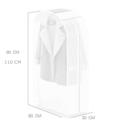 Clothing Dust Cover Clothes Protector Storage Bag Garment Suit Big Capacity M//L