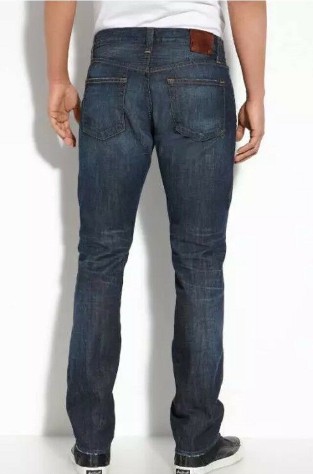 J Brand Men's WALKER Relaxed Straight Leg Jeans CHARGER Wash Size 30X41