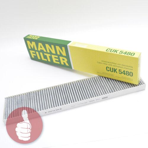 Homme-Filtre Intérieur Filtre Pollen Filtre à charbon actif CUK 5480 VAG VW groupe