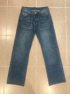 """1f1dc422 Ksubi 'Raval' Mens 30"""" Straight Leg Jeans Indigo Denim Dark Blue ..."""
