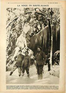"""Poilus Chasseurs Alpins Alsace/Artillery British Army Canon Gun France 1918 WWI - France - Commentaires du vendeur : """"OCCASION"""" - France"""