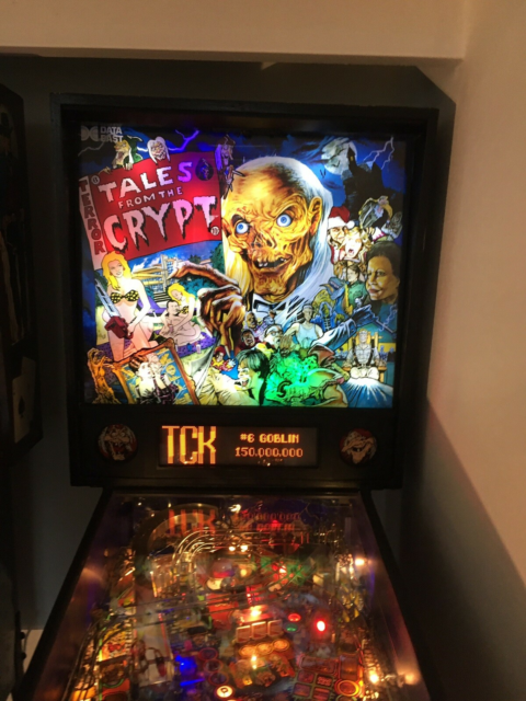 flippermaskine, God, Tales of the crypt! Super flot stand…