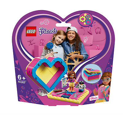 Lego Friends 41357 Olivias herzbox and the buildable robot ...