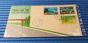 1983 Malaysia First Day Cover East West Highway Commemorative Stamp Issue