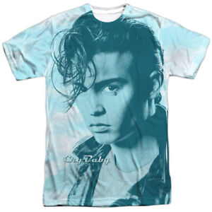 Authentic-Cry-Baby-Movie-Johnny-Depp-Crying-Cloud-Sublimation-ALL-Front-T-shirt