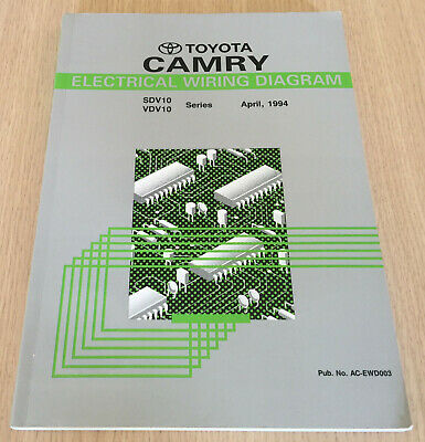 Toyota Camry Electrical Wiring Diagram Sdv10 Vdv10 1994 Book Manual Ebay