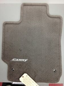 Image Is Loading 2007 2017 Camry Carpet Floor Mats Brown Genuine
