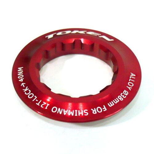 Red 026 12T gobike88 TOKEN Lock Ring for Shimano Cassette