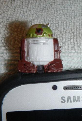 Star Wars Cell Phone Charm Dust Plug Smartphone Ki Adi Mundi R5 D4 R6 H5 Clone
