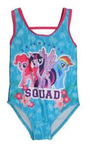 ec697f3cf43a4 My Little Pony Girls Friendship Squad One Piece Swimsuit Size 4 5/6 ...