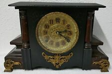 REAL NICE 1880's GILBERT MANTLE CLOCK