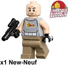Lego - Figurine Minifig Star Wars Commander Gregor + weapon sw748 75157 NEUF