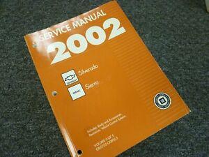2002 Gmc Sierra 1500 2500 3500 Truck Electrical Wiring Diagrams Manual Denali Ebay