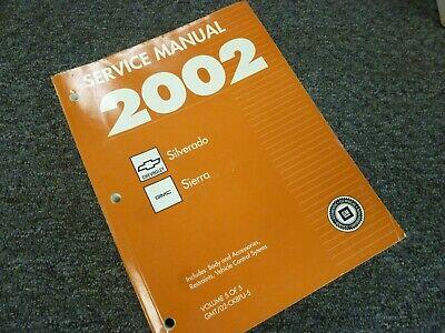 2002 GMC Sierra 1500 2500 3500 Truck Electrical Wiring ...
