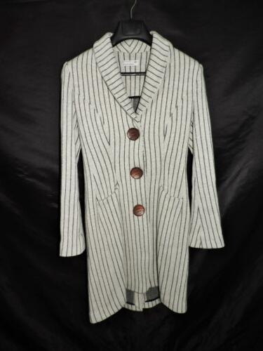 Cappotto di di righe a Chionna cappotto Tg lana lana S Italia Carlo M nere 42 grigie qX4wOYR