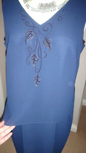 R-amp-M-Richards-by-Karen-Kwong-Evening-Long-Beaded-amp-Embroidered-Dress-Size-12