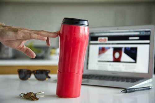 Dexam Mighty Mug Solo Travel Mug Thermos Flask Won/'t Spill 7 Colours