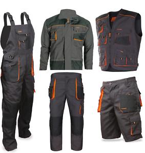 Pantalones-de-Trabajo-Cortos-Peto-Chaqueta-Chaleco-Profesion-Pantalon-Protector