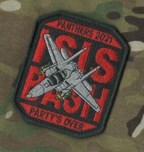 F-15 494th FS Panters Isis Basher @ Raf Lakenheath Vêlkrö Ocp Patch : DE FÊTES