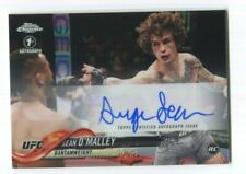 2018 Topps Chrome UFC Autograph Sean O'Malley