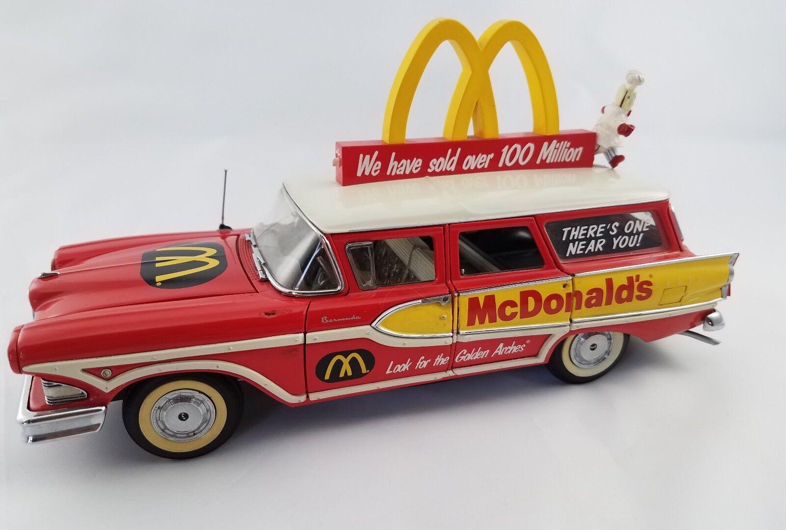 Danbury Mint Edsel McDonalds Station Wagon