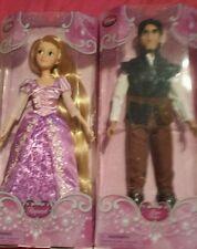 Disney Store Rapunzel Flynn Rider Juego De Muñeca Nuevo