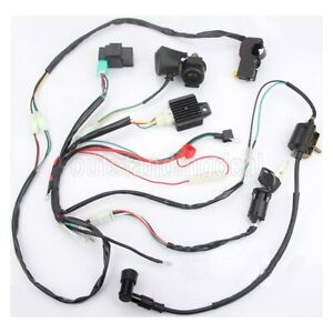 wiring harness kit for atv atv buggy wiring harness kit ignition coil cdi for 50 70 90 110cc  wiring harness kit ignition coil cdi
