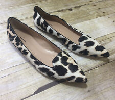 J. Crew Collection Harper calf hair flats Item B1267 $268 SOLD OUT! sz 10.5