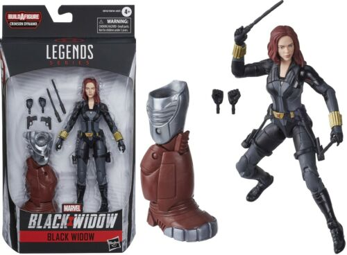 "Black Widow 6/"" Inch Action Figure Black Widow Marvel Legends Series BAF"