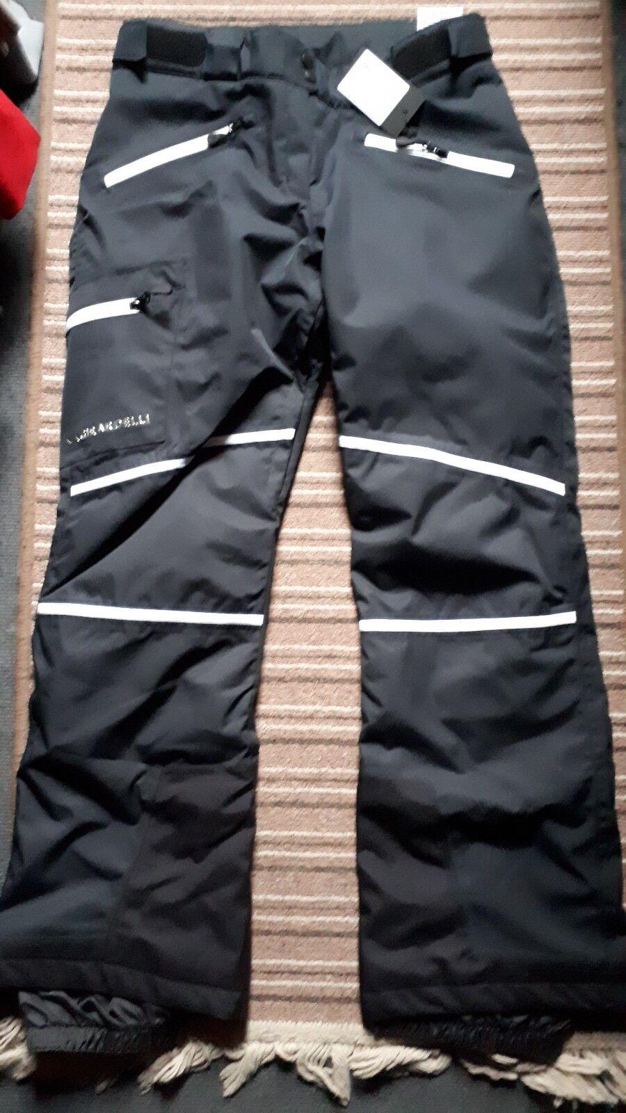 Patagonia Damen Damen Nano Quaste Isolierte Jacke UK 12 Black Bergsteigen & Klettern