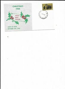 Australia-First-Day-Cover-Christmas-1966