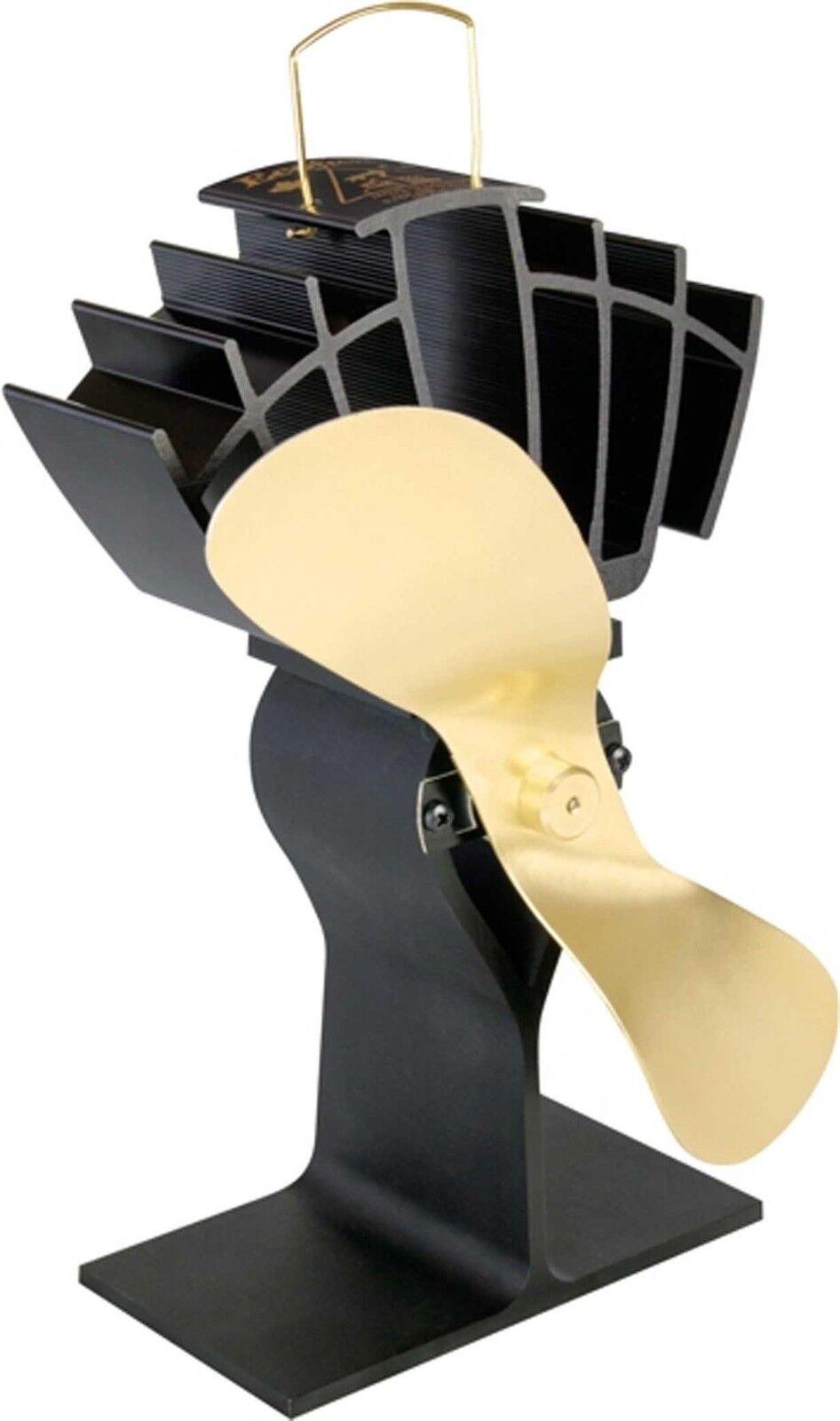 Ecofan 810 UltrAir Stove top fan self powerot, Gold blade        ECOFAN810BG
