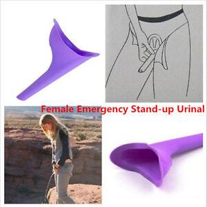 Donna Femmina Donna portatile urina orinatoio Campeggio Viaggio disabile