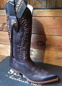 8990-Sendra-boots-western-country-marron-Superbe-promo