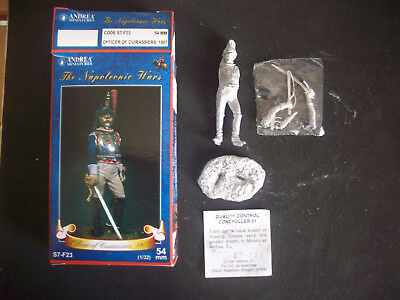 Bello Andrea Miniatures Officer Of Cuirassiers 1807, 54 Mm.- Scala 1/32