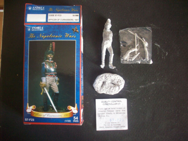 Il Migliore Andrea Miniatures Officer Of Cuirassiers 1807, 54 Mm.- Scala 1/32
